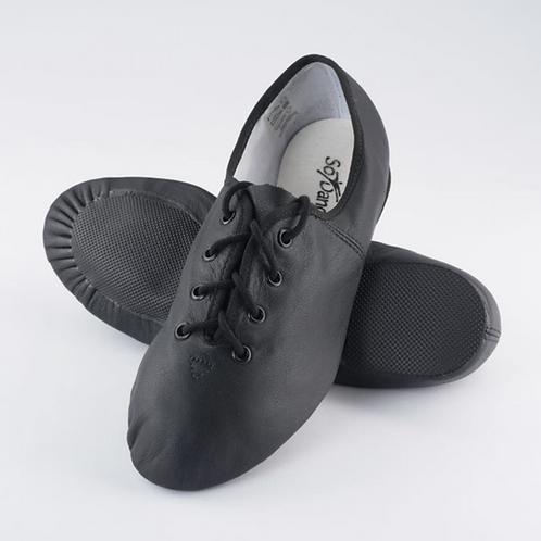 Leather Split Sole Jazz Shoes