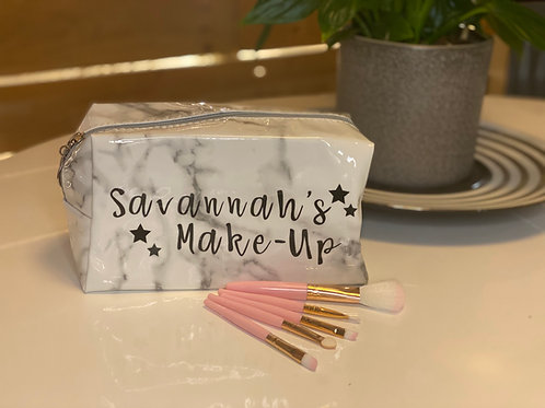 Personalised Make-Up Bag