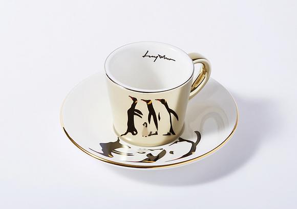 LUYCHO espresso cup & emperor penguins