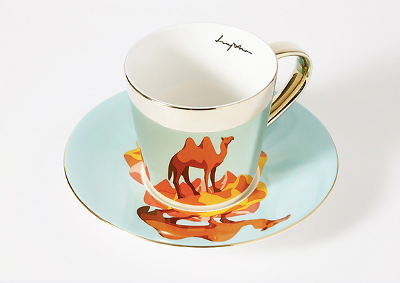 LUYCHO tall cup & bactrian camel