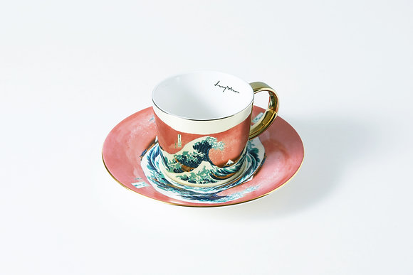 LUYCHO cup & the great wave off kanagawa