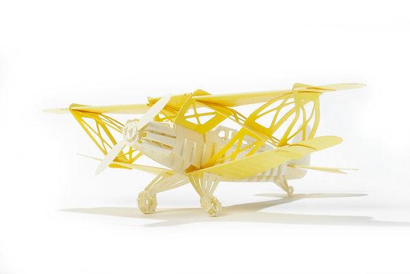 PAPERO BEAN biplane