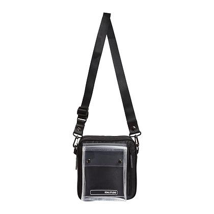 GOALSTUDIO logo wappen small shoulder bag black