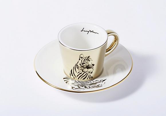 LUYCHO espresso cup & siberian tiger