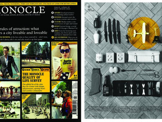 Papero Biplane was featured in UK MONOCLE Magazine July 2012 issue!