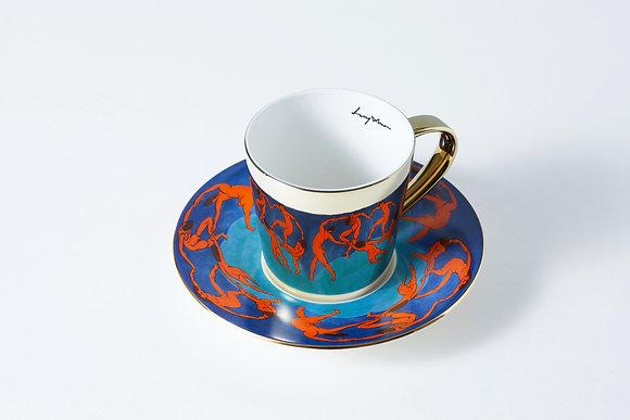 LUYCHO tall cup & henri matisse 'dance'