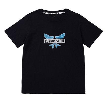 ROYROY SEOUL t-shirt two fish (navy)