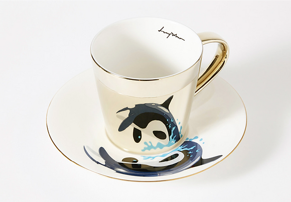 LUYCHO tall cup & killer whale