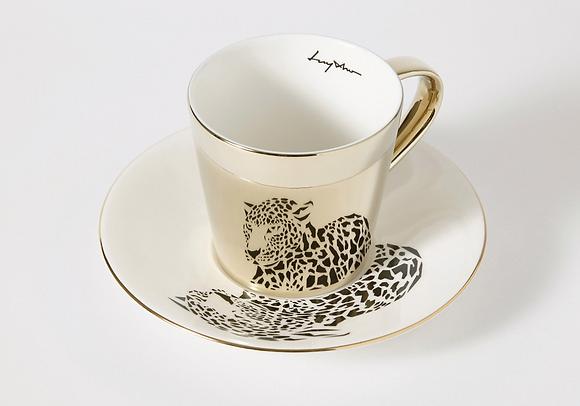LUYCHO tall cup & amur leopard