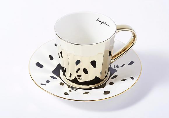 LUYCHO tall cup & panda dalmatian