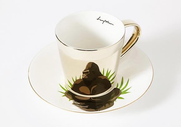 LUYCHO tall cup & lowland gorilla