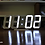 Thumbnail: MOOAS big LED wall clock dual color (standing & hanging alarm mode)