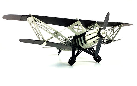 PAPERO BEAN black series biplane
