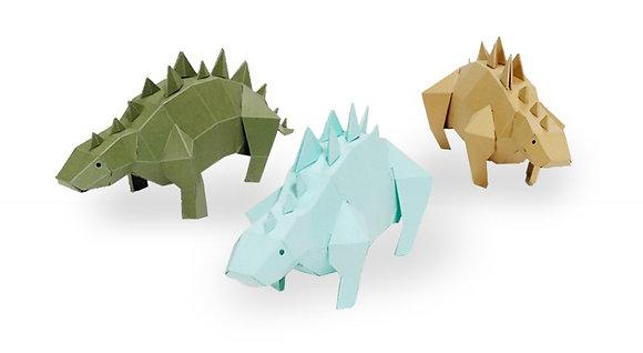 PAPERO BEAN stegosaurus