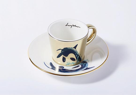 LUYCHO espresso cup & killer whale