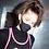 Thumbnail: LEMASKA face mask stripe black