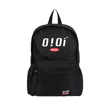 5252 BY OIOI basic logo backpack black