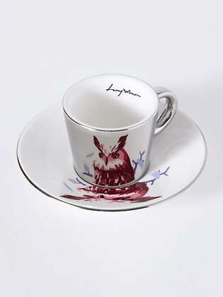 LUYCHO espresso cup & eagle owl