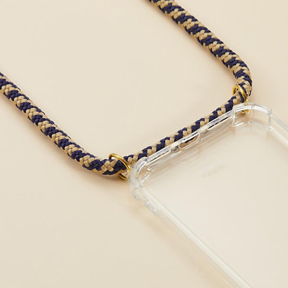 ARNO iPhone  Case with Rope Strap_Golden Blue