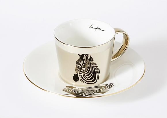LUYCHO espresso cup & chapman's zebra