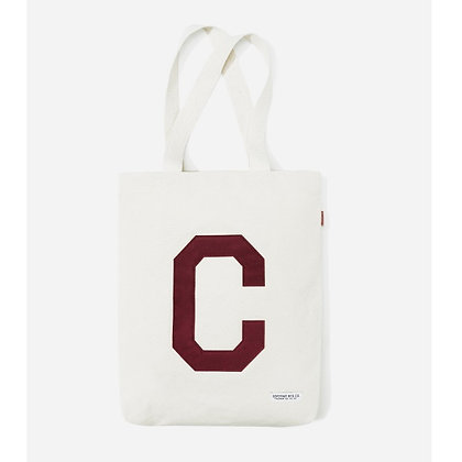 COVERNAT c logo eco bag burgundy