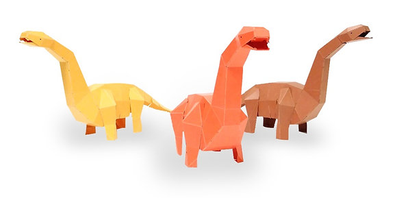 PAPERO BEAN brachiosaurus