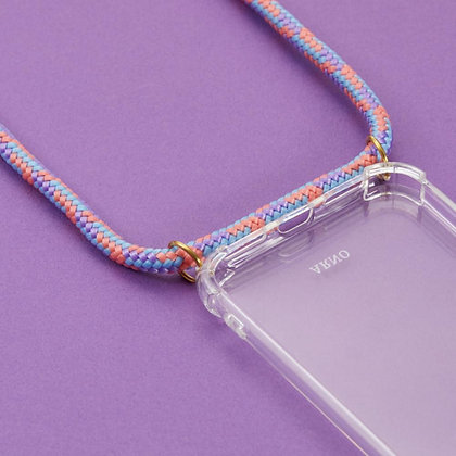 ARNO iPhone Case with Rope Strap_Fancy Coral