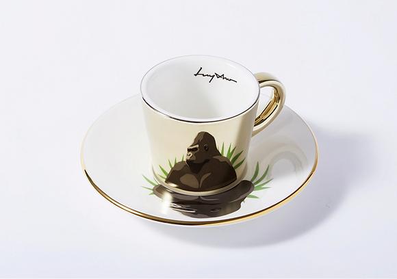 LUYCHO espresso cup & lowland gorilla