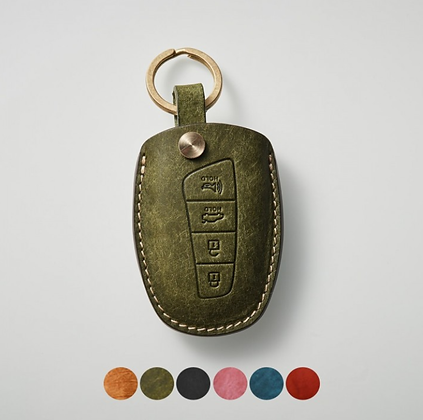 HERMANN smart key leather case_HYUNDAI (sHD)