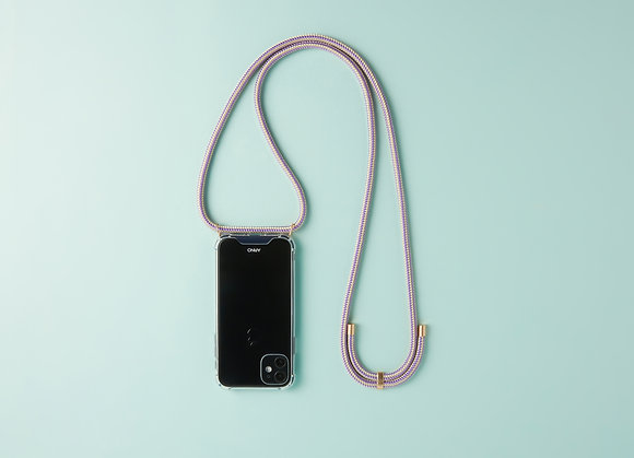 ARNO iphone  case with rope strap_my lavender
