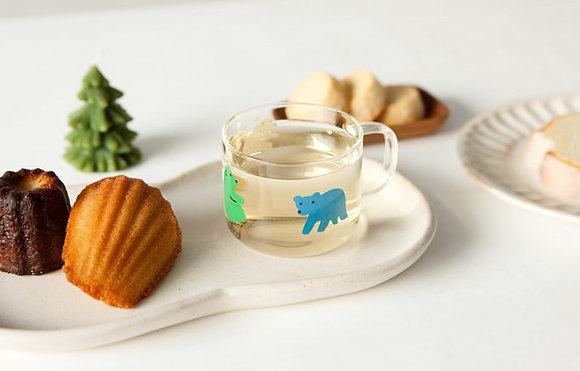 WARMGREY TAIL rolling bears mini cup