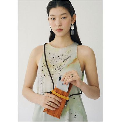 PLEATSMAMA nano bag (Jeju Tangerine)