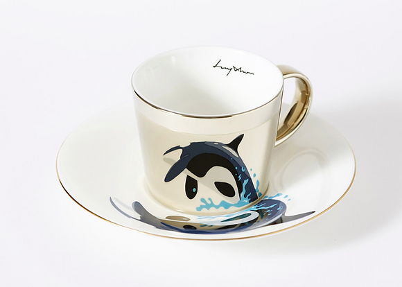 LUYCHO cup & killer whale