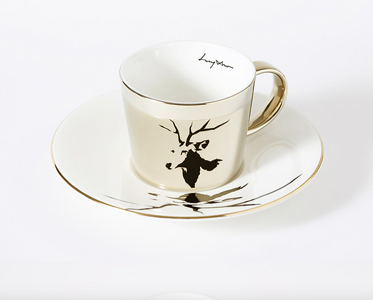LUYCHO Cup & Sika Deer gold round cup