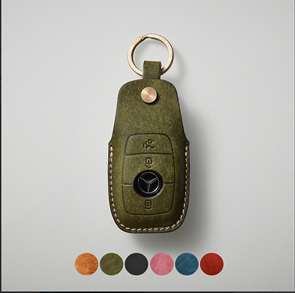 HERMANN smart key leather case_BENZ (sBX100)