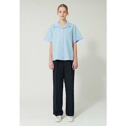YARGNITS X NOW SLOW basic wide trousers (2 colors)