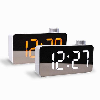 MOOAS  big mirror clock (standing alarm mode)