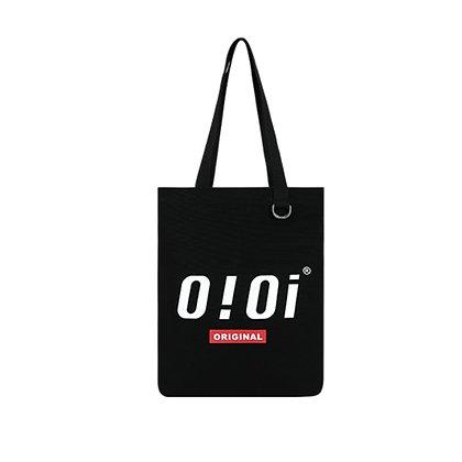 5252 BY OIOI basic logo eco bag black