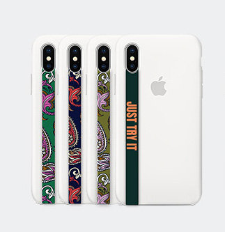 HIGH LOOP phone strap (pattern green/pattern navy/just try it)