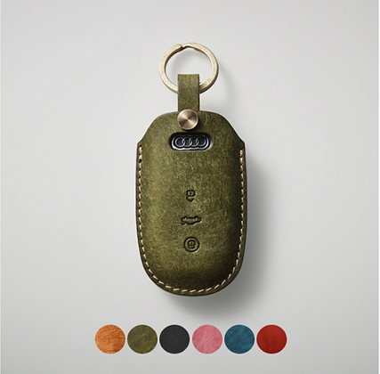 HERMANN smart key leather case_Audi (sAX103)