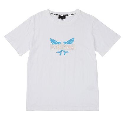 ROYROY SEOUL t-shirt two fish (white)