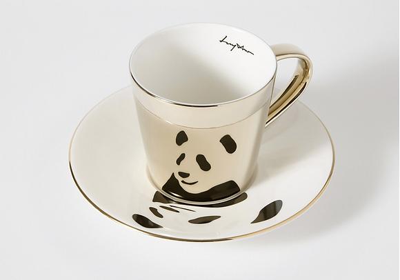 LUYCHO tall cup & giant panda