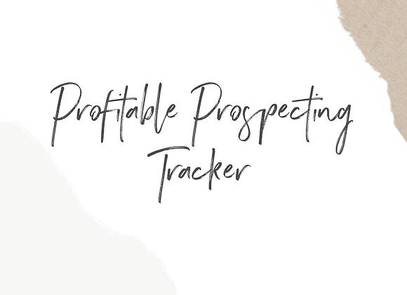 Profitable Prospecting Tracker