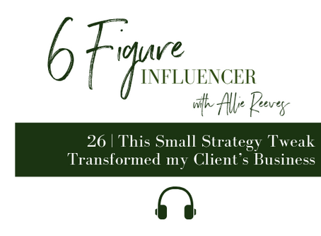 26   This Small Strategy Tweak Transformed my Client's Business