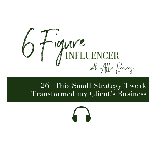 26 | This Small Strategy Tweak Transformed my Client's Business