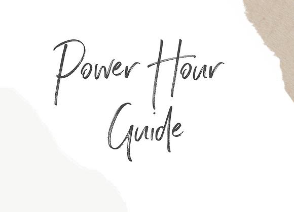 Power Hour Guide
