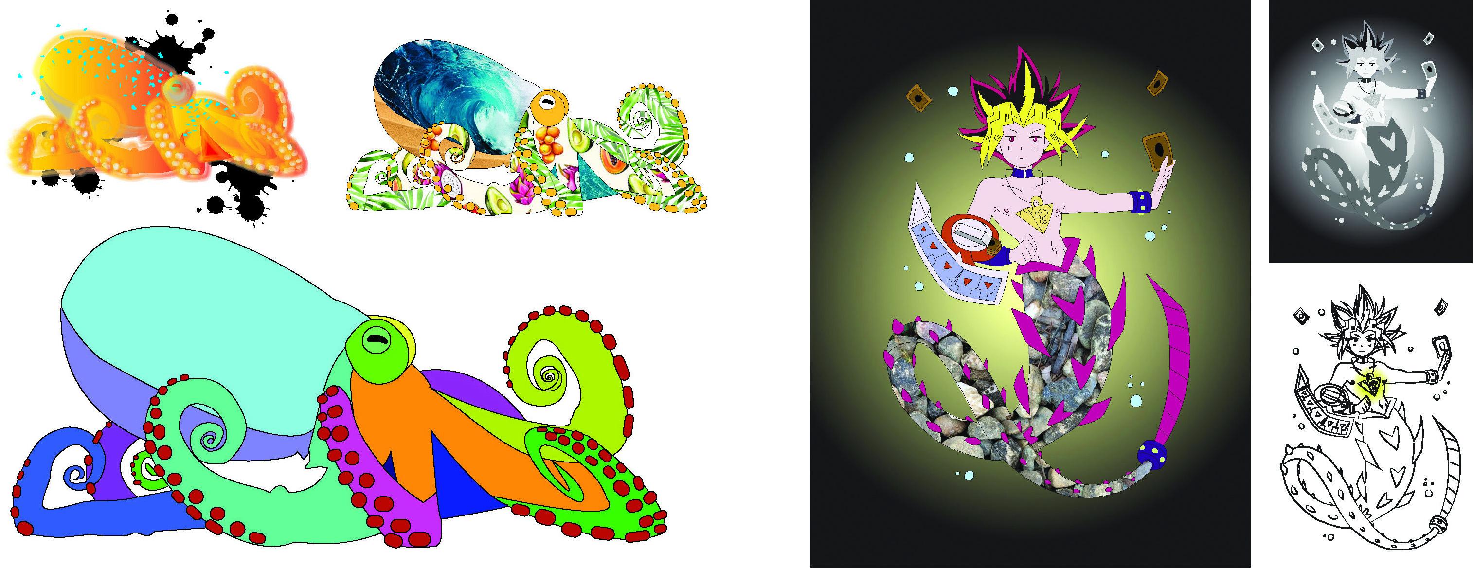 Illustration Drawing Series