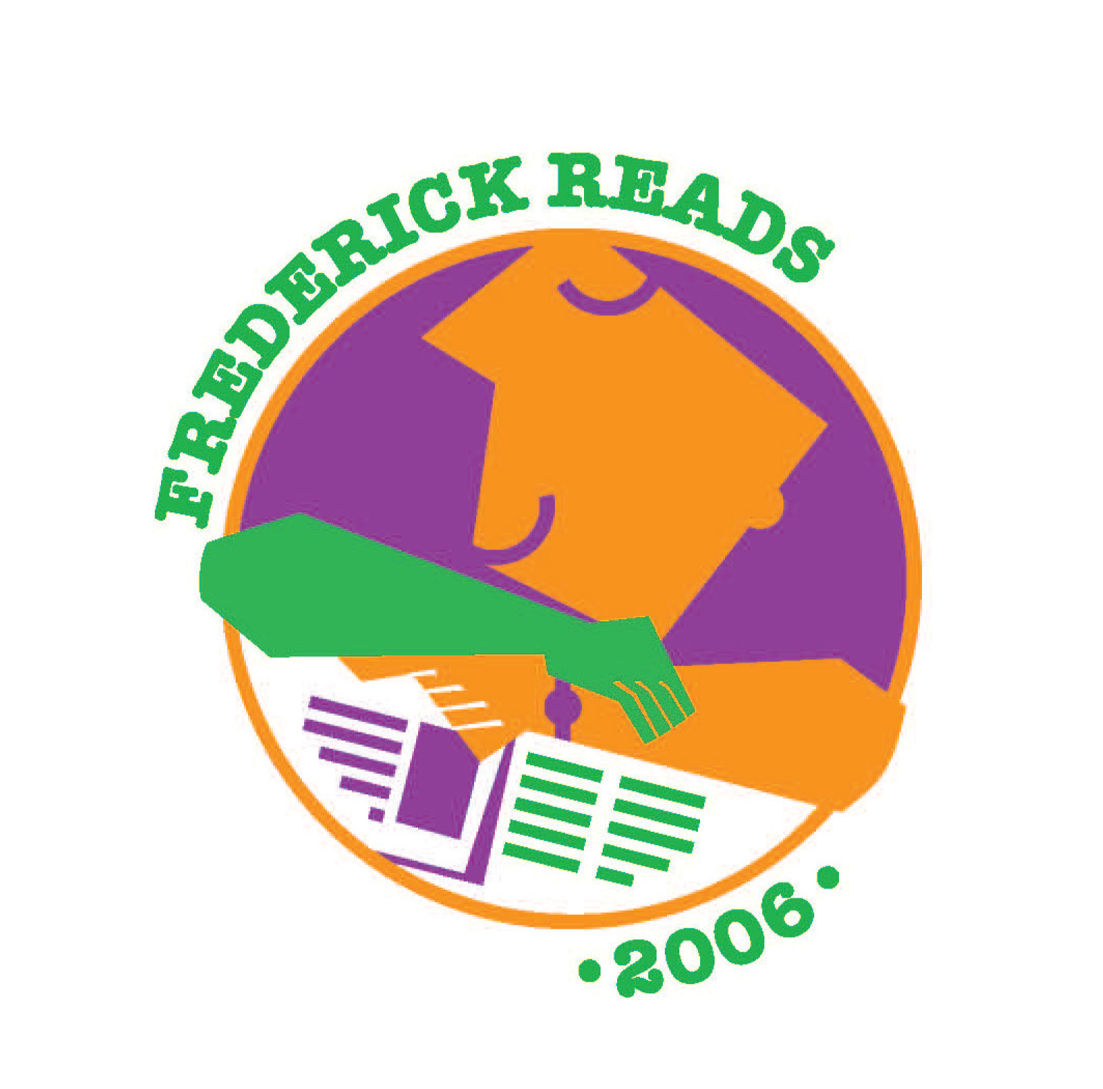 Frederick Reads Logo