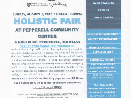 Itching for a reading? Come to Pepperell, MA on Sunday, 8/1 - it's for a great cause!
