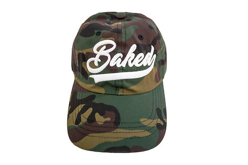 Baked Hat (Camo/White)